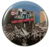 Cockney Rejects  - 'East End Babylon' Button Badge